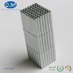Cylinder Neodymium Magnets Motor Machine N40 Nickel Coated Neodymium Rod Magnet Manufactures