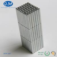 Quality Cylinder Neodymium Magnets Motor Machine N40 Nickel Coated Neodymium Rod Magnet for sale