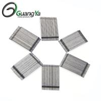 China High Quality Glued hooked end steel fiber for concrete reinforcement on sale