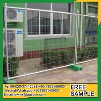 Fraser Island Standard size in Canada free standing mobile fence panel Manufactures