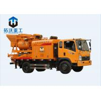China Portable Construction Truck Mounted Concrete Pump With Large Capacity on sale