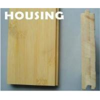 Quality Natural Horizontal Solid Bamboo Flooring for sale