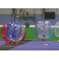 Big Outdoor Blow Up Toys For Toddlers Inflatable Human Bumper Ball Manufactures