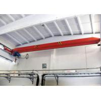 European Style 5 Ton Single Girder EOT Crane , Indoor Monorail Overhead Crane Manufactures