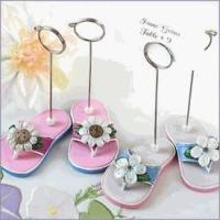 China Garden Party Flip Flop Placecard Holders on sale