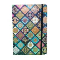 Glitter Hardcover Notebooks Printing With Elastic , Custom Made Notebooks Manufactures