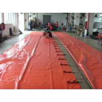 China PVC Coated Waterproof Side Curtain / Fire Retardant Truck Side Curtains on sale