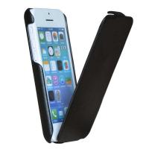 Premium Ultra slim PU leather cover for Apple iphone 5C, vintage black vertical flip case, Manufactures