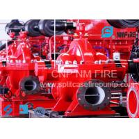 NFPA Standard Double Suction Split Case Pump Centrifugal 2500GPM@135PSI Manufactures