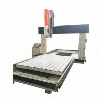 High Rigidity CNC Automatic Cutting Machine Adjustable Operation Panel Manufactures
