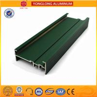 Powder Coated 6005 6005A Aluminum Alloy Profiles / Heat Transfer Plates Manufactures