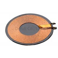 Square Or Round Shape RX Charger Transmitter Coils / QI Wireless Charging Coil Manufactures
