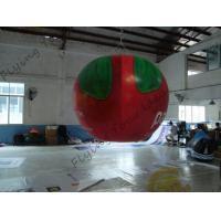 B1 Fireproof PVC Apple Fruit Shaped Balloons With Full Digital Printing 3m Height Manufactures