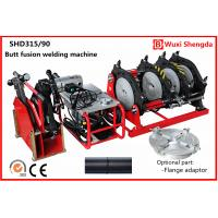 China Hydraulic HDPE pipe butt fusion welding machine 90mm to 315mm  SHD315/90 on sale