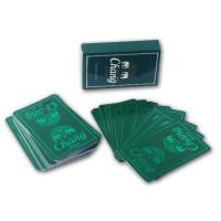 Custom Printing Paper Card , One Set Poker Printing With Box Packaging