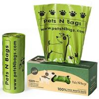 PLA Biodegradable Compostable Dog Waste Bags With Personalized Design Manufactures