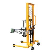 China Gripper Type Rotating Forklift Drum Dumper Lift 1.6m Lifting Height on sale
