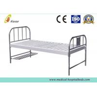 Custom Flat Medical Hospital Beds With Foot Board Stainless Steel Hole Punching ALS-FB003 Manufactures