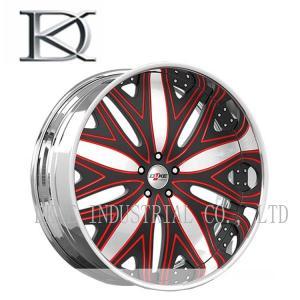 High Strength Machined Car Racing Wheels Aluminum Hyper Silver Painting