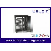 Swipe Card Full height Access Control Turnstile Gate Safety System 50HZ / 60HZ Manufactures