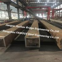 China Heavy Box Type Structural Steel Construction , Steel Frame House Construction For Urban Large Commercial Complex on sale