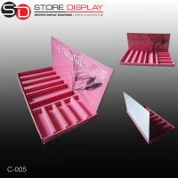 custom high quality counter display for cosmetic Manufactures