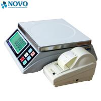 White Digital Pricing Scale Large LCD Display Weigh Check Alarm Easy Counting Manufactures