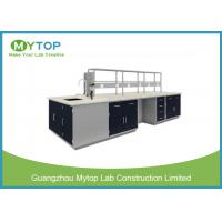 Modular Lab Tables And Furnitures Heavy Duty With Cold Roll Steel Sheet Meterial Manufactures