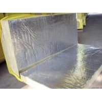 Sound Absorption Rockwool Insulation Board Laminated With Aluminum Foil Manufactures