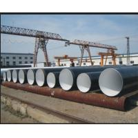 Spiral welded Cold Drawn SSAW Steel Pipe Anti-Corrosion , BS 1387 BS EN10217 JIS G3474 Water / Gas Pipe Manufactures