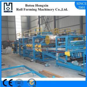Lightweight Concrete Sandwich Panel Production Line 4m / Min Work Capacity Manufactures
