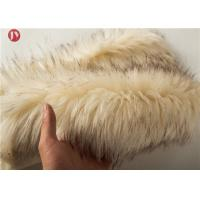 China Costume Fake Animal Print Faux , Faux Mink Fur Fabric Auto Upholstery 1050 Gsm on sale