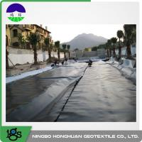 Geomembrane PP woven geotextile soft soil stabilization projects Manufactures