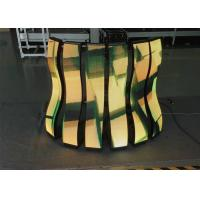 Quality P6mm Soft Led Curtain Video Wall , Flexible Led Video Screen For Stage Background for sale