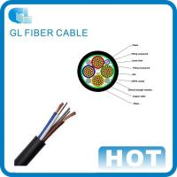 China OEM power system 24 core GYTA outdoor fiber optic cable Hybrid fiber optic cable on sale