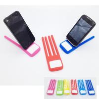 FDA SGS Fold Finger Shape Silicone Phone Holder Novelty Silicone Mobile phone Holder stand Manufactures
