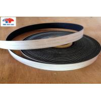 China Industrial Strength 6 Inch Hook And Loop Fastener Tape Black With Glued wholesale