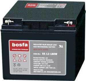 HR12-170W 12V45ah High Rate Battery 12V 45ah Manufactures