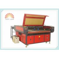 Label Logo Trademark Camera Laser Cutting Machine with Auto Feeding Device (JM1610T-AT-CCD) Manufactures