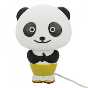 China New Panda Po LED Intelligent Desk Light Smart Voice Control Alarm Clock Desk Lamp on sale