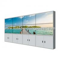55 Inch LCD Video Wall Frameless 0.88mm 500cd Brithtness Gap 3x4 LG Panel Manufactures
