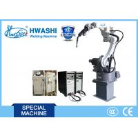 Professional 6 Axis Indstrial CNC Welding Robot With Servo Motor Manufactures