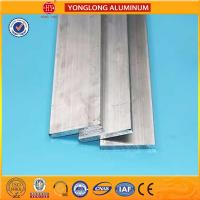 Industry Anodized Aluminum Profiles Sheet For Building Flat Shaped Manufactures