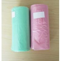 12 Micron 30L T Shirt Plastic Garbage Bags HDPE Material Blue Colour 460 * 560mm Manufactures