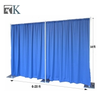 China china fireworks pipe drape curtain backdrop wedding decoration materials on sale
