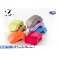 Velvet cover Memory Foam Pillows Customized LOGO for Office Nap , ROHS TUV certificate Manufactures
