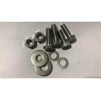 Small Size Duplex Stainless Steel Fasteners 310 310S ASME B18.2.1 Hex Bolt With Hex Nuts Manufactures