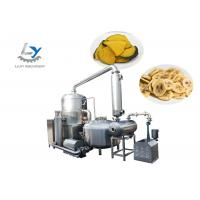 Stainless Steel 304 Automatic Snacks Frying Machine No Color Fading , Jujube Vacuum Fryer Manufactures