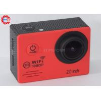 Quality Outdoor 30fps FHD 1080p Action Camera Mini Video Camera For Sport Activities for sale