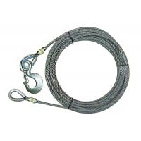 All - Grip Wire Rope Extension IWRC For Winch Line Thimbled Eye On One End Manufactures